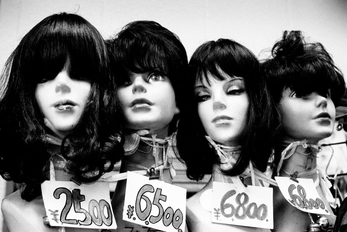 japanese mannequin heads