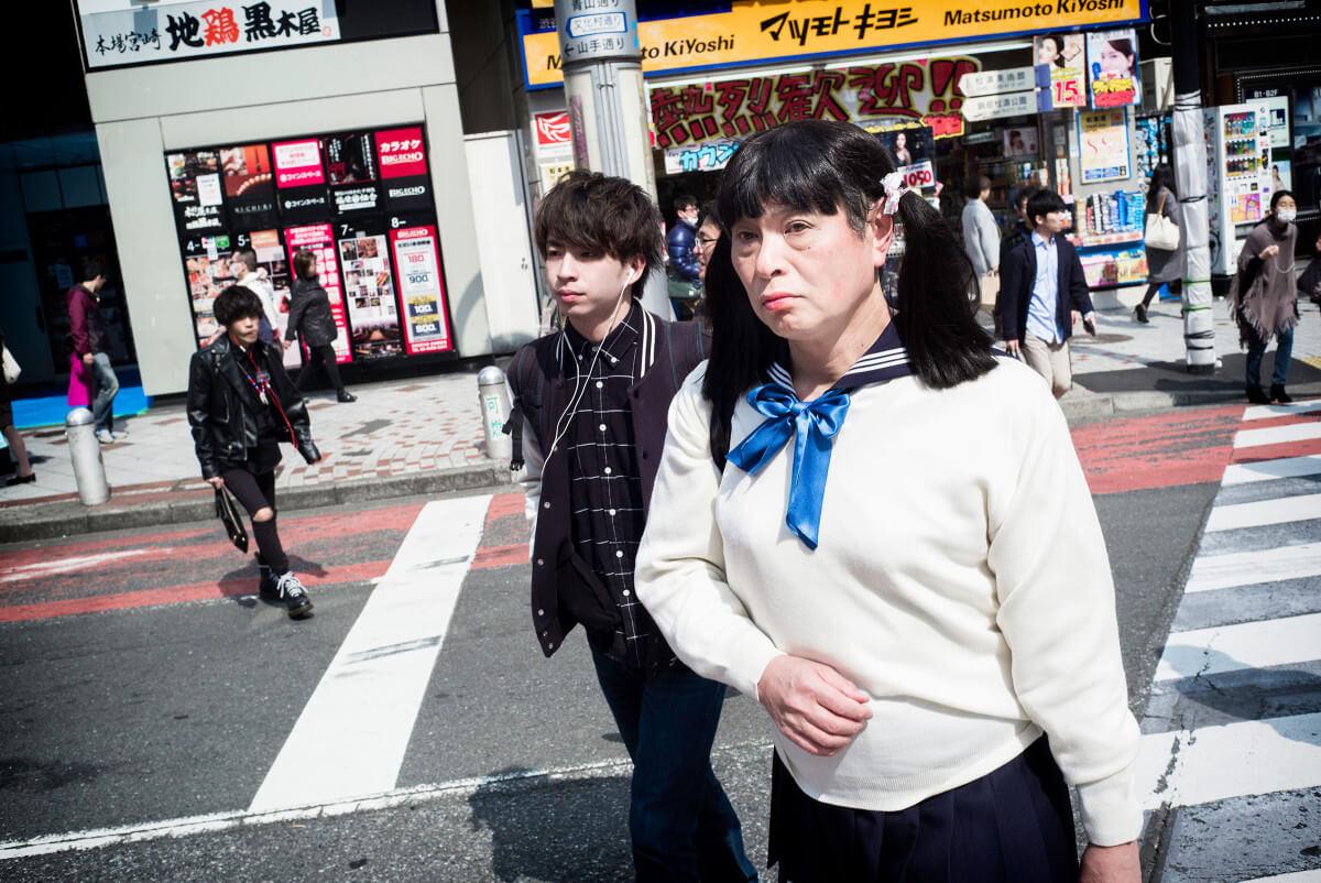 japanese schoolgirl transvestite