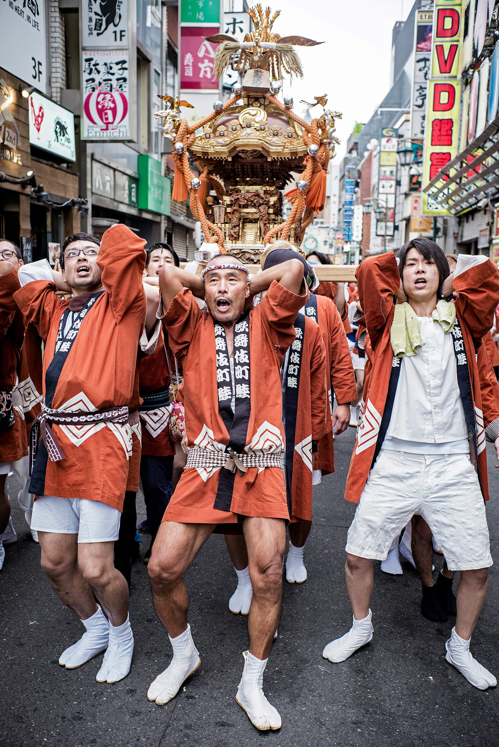 Traditional Japanese big city festival — Tokyo Times
