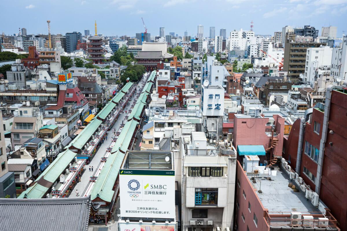tourist free Asakusa for Tokyo 2020