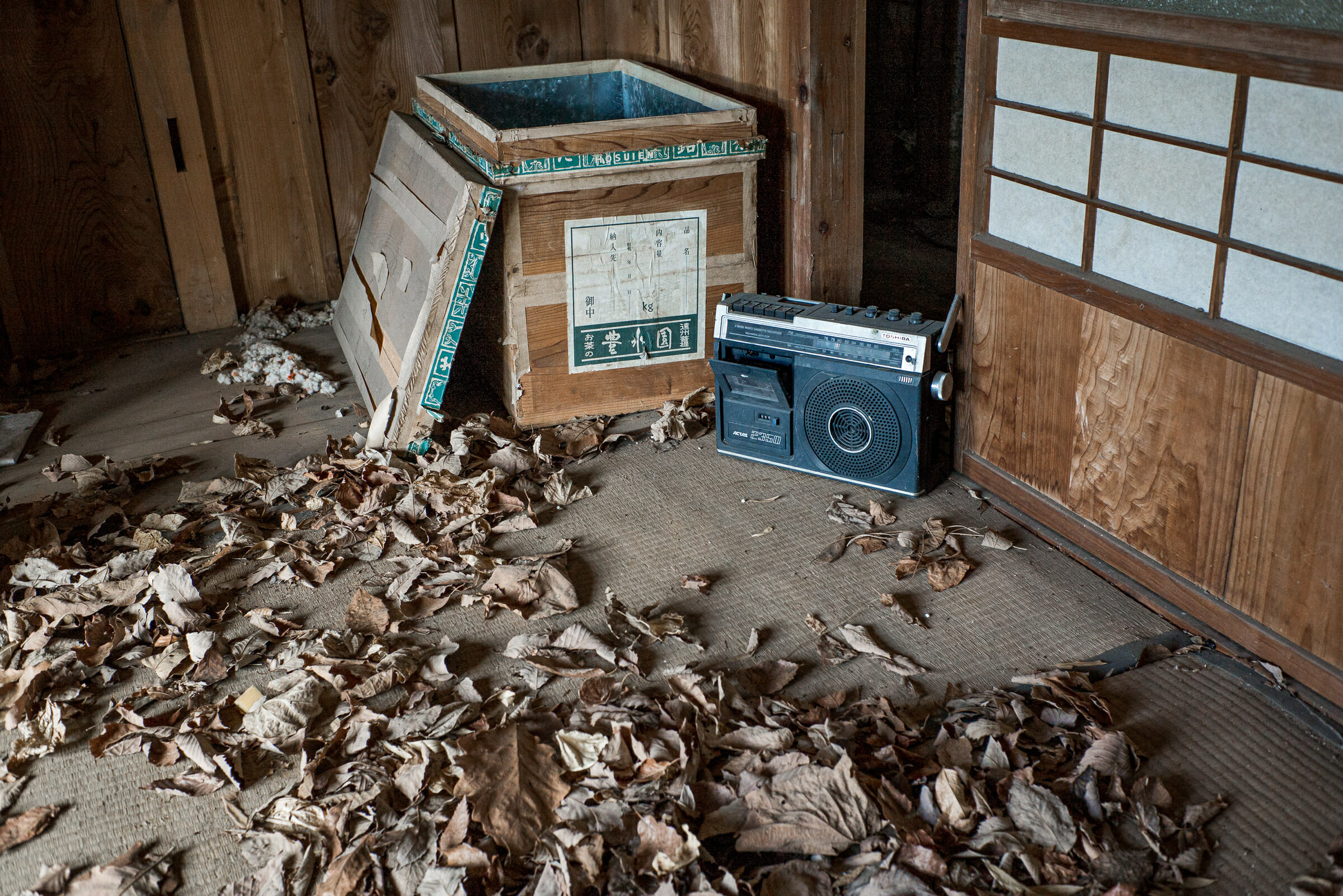 an old and abandoned Tokyo house