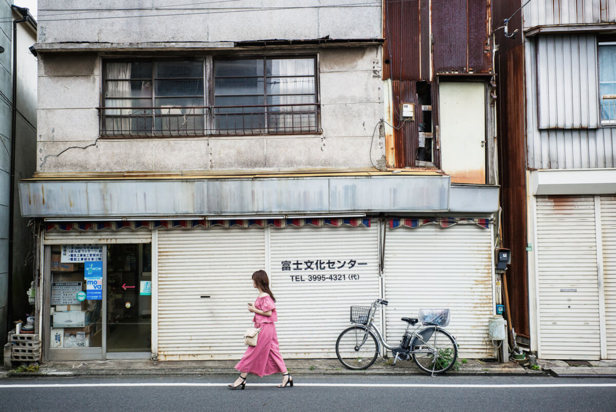 old and dilapidated Tokyo