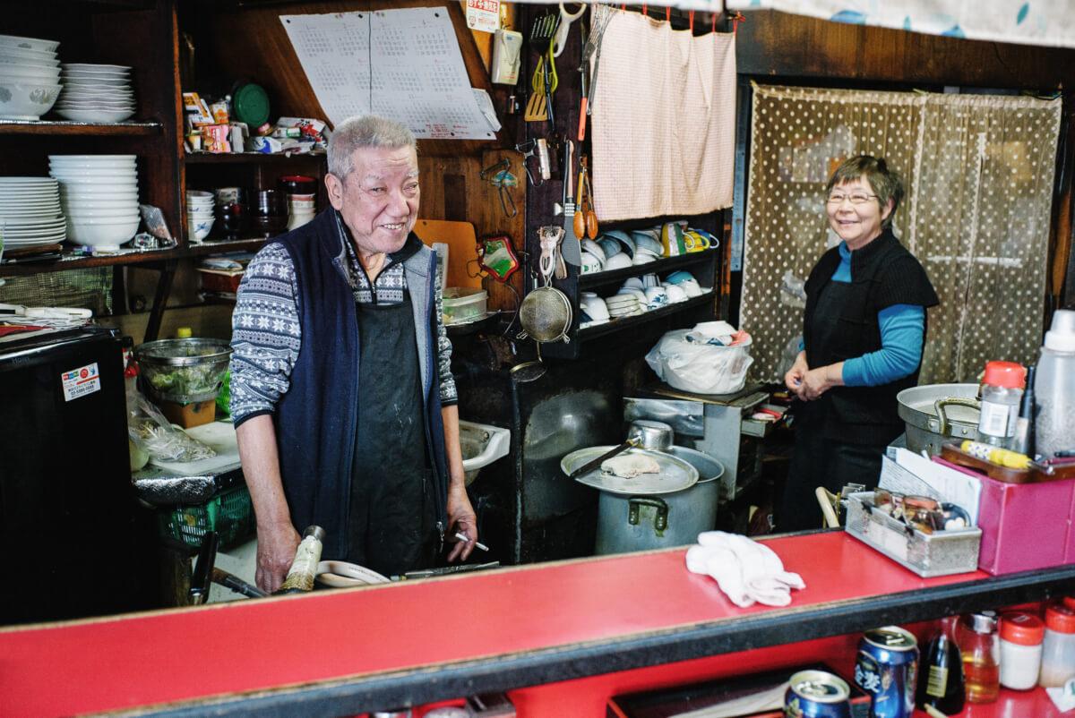 An old and friendly Tokyo ramen restaurant