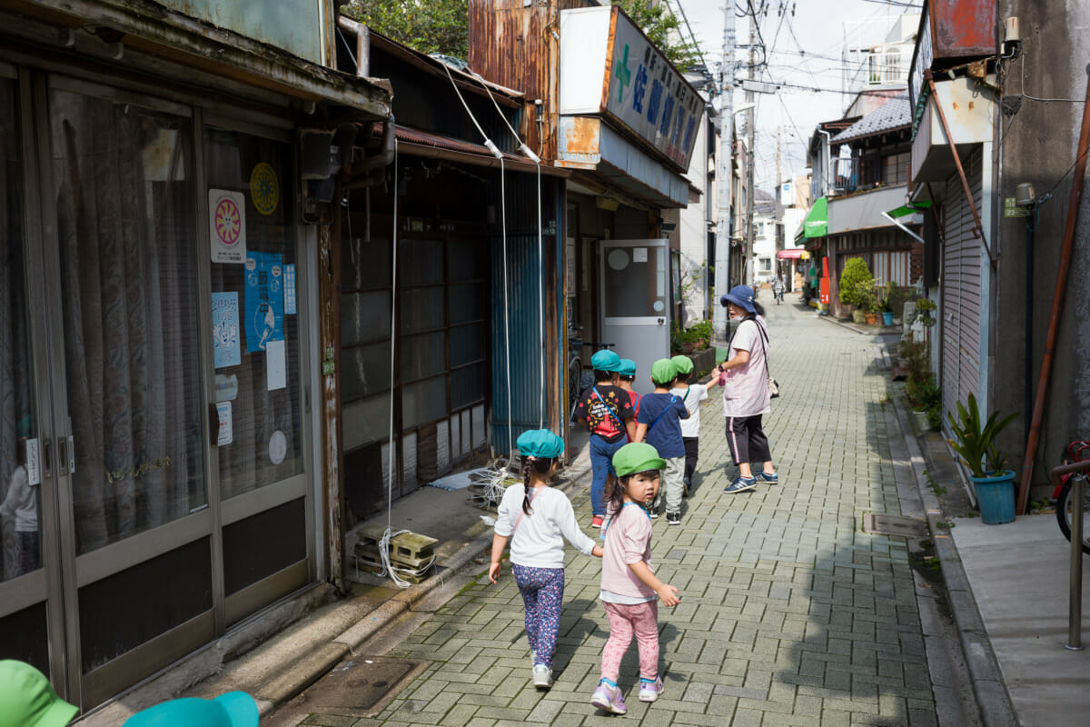 Old Tokyo and its youngest citizens