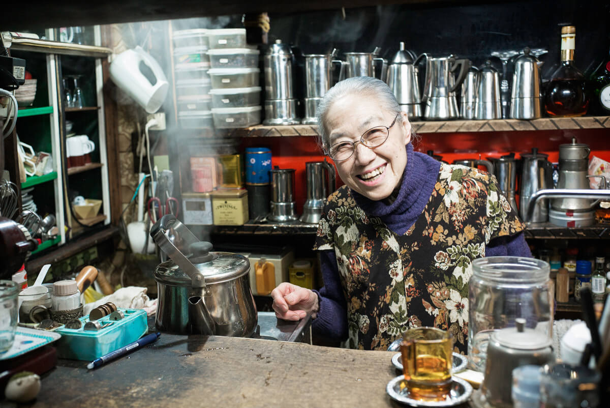 old Tokyo coffee shop owner