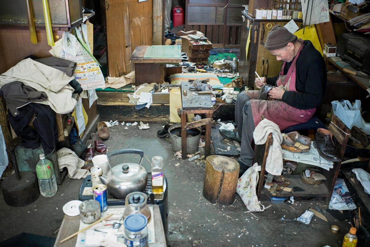 old Tokyo shoemaker