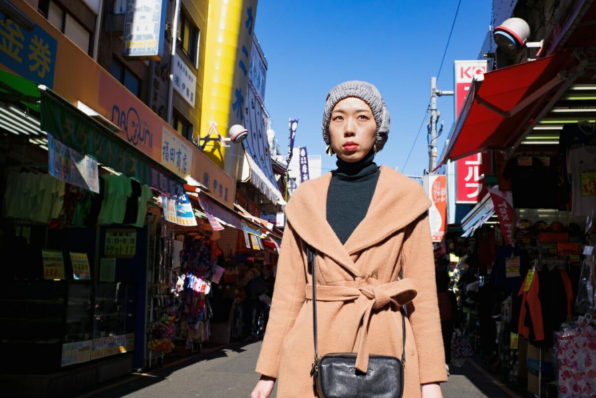Portrait of a Tokyo shopper