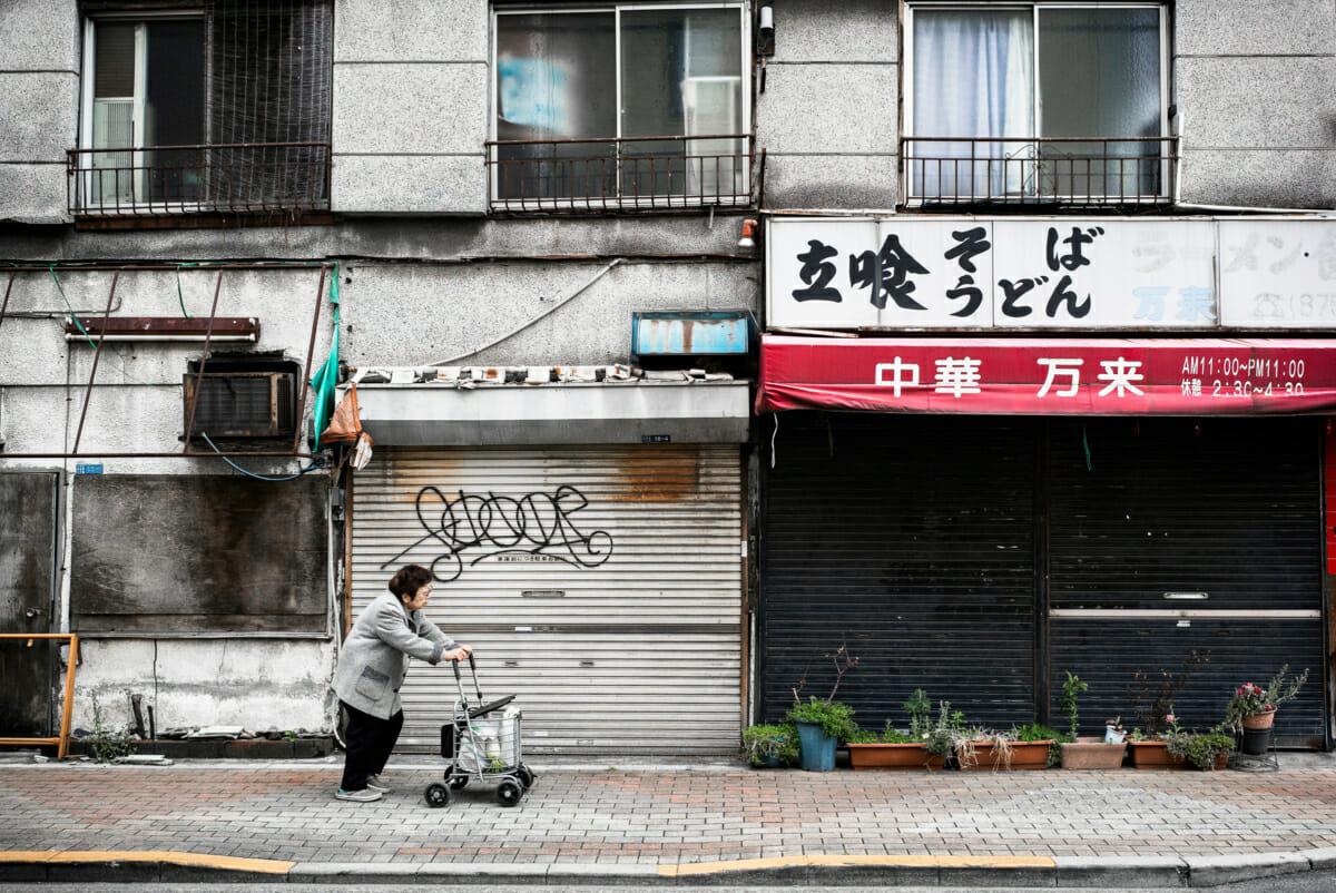 Sanya, Tokyo's poorest neighbourhood