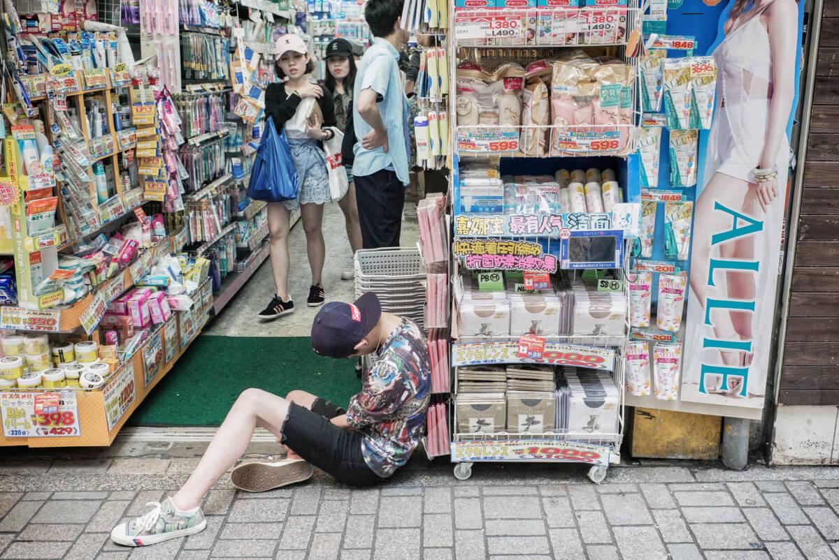 shop til you drop in Tokyo