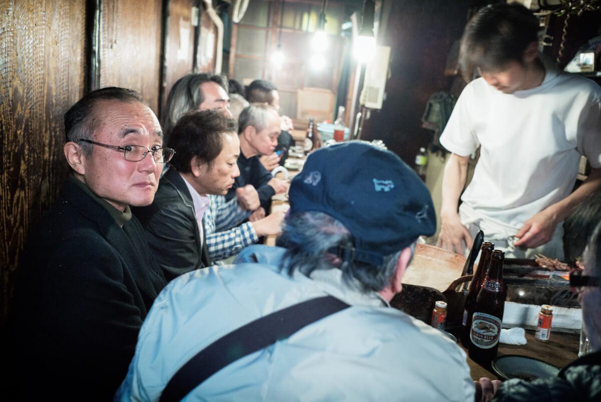 tiny tokyo bar stares