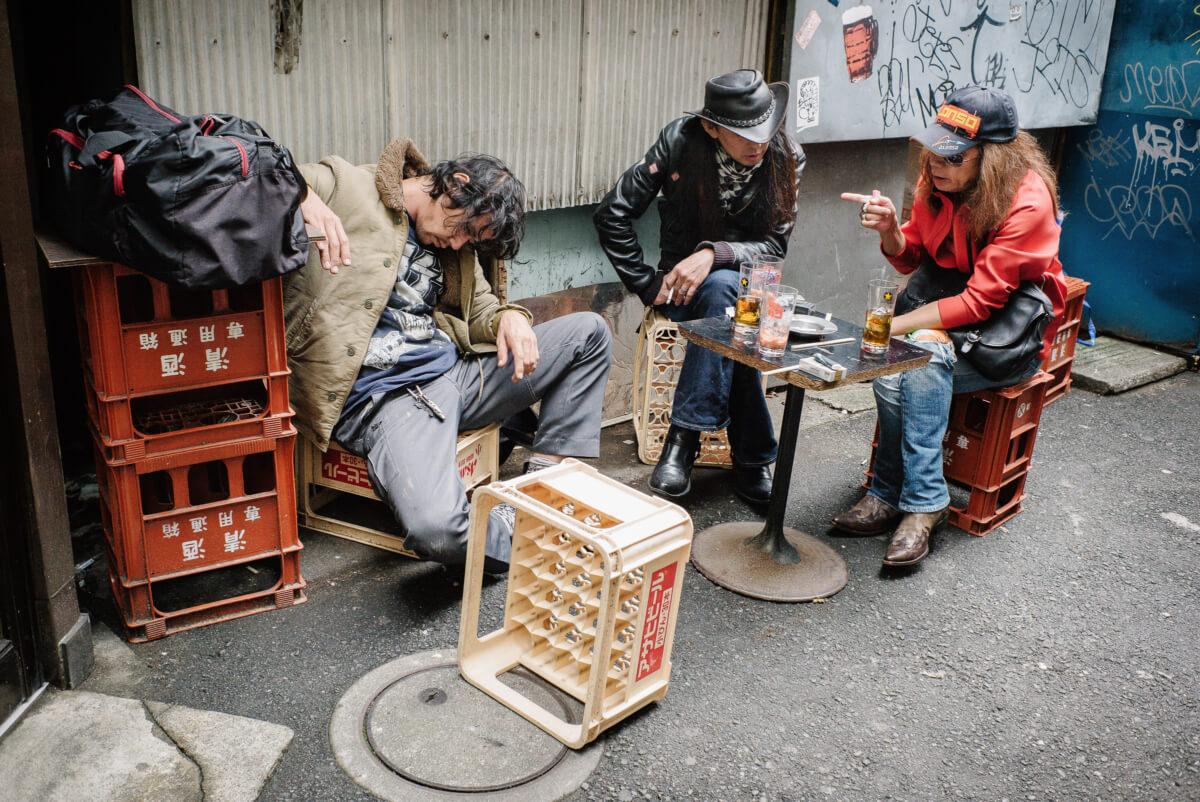 tokyo 24 hour drunk drinkers