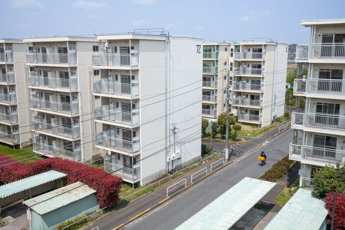 old Tokyo danchi