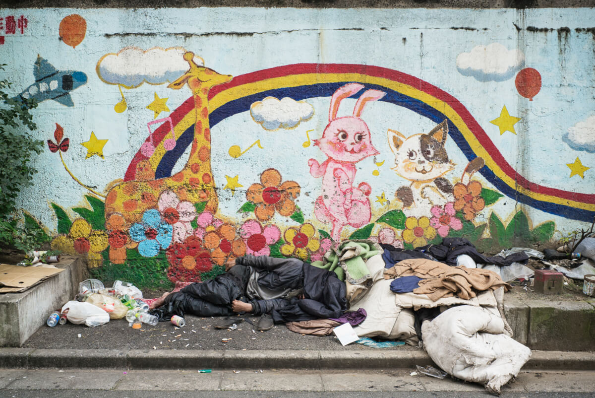 tokyo homeless poverty