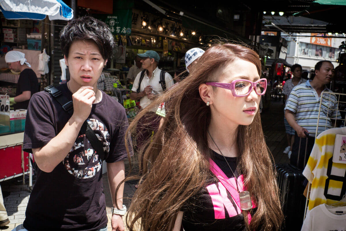 Tokyo looks and stares