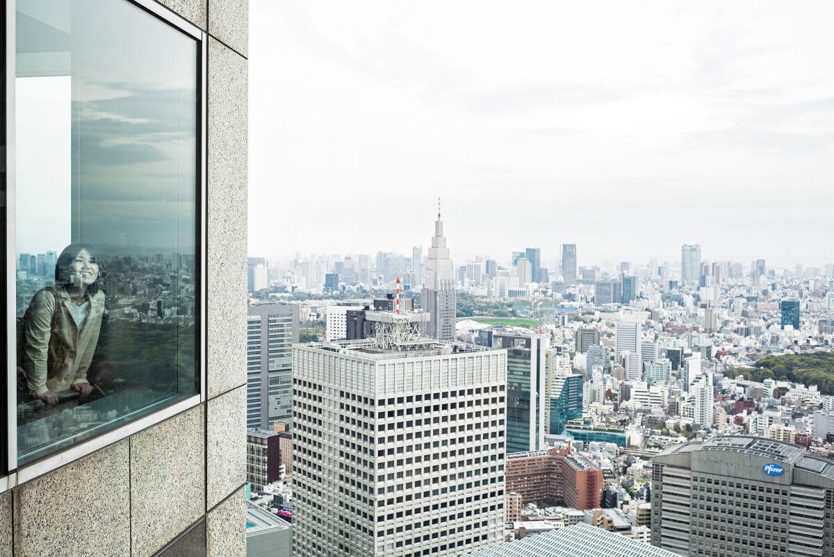Tokyo metropolis skyline