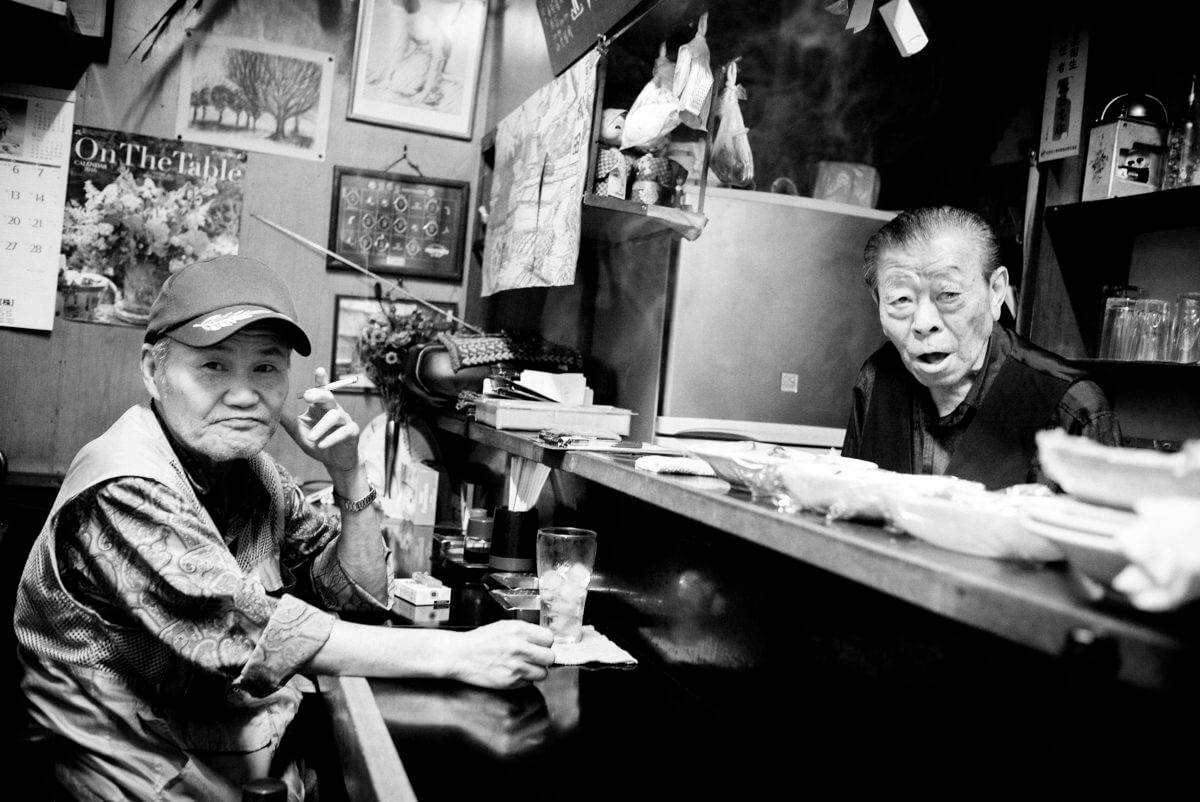 Tokyo old bar friends