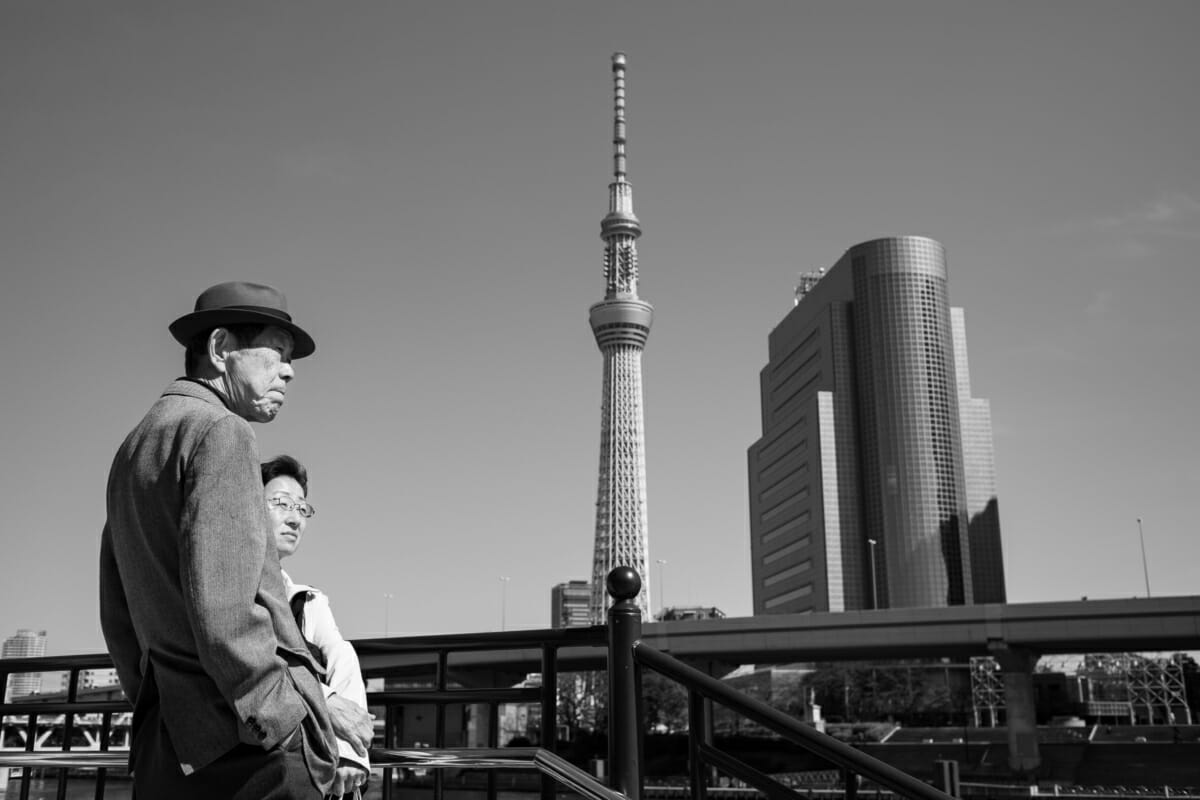 Tokyo past and present
