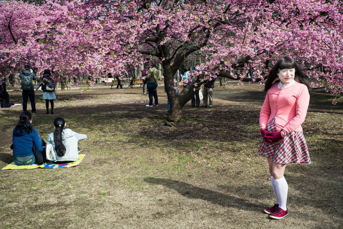 Tokyo plum blossom transvestite