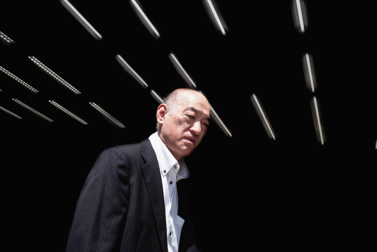tokyo salary man portrait
