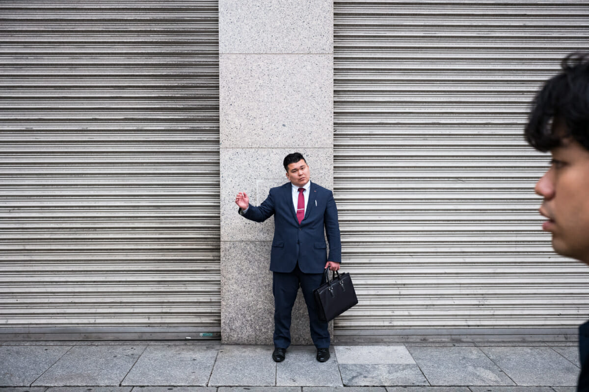 a tokyo salaryman squared