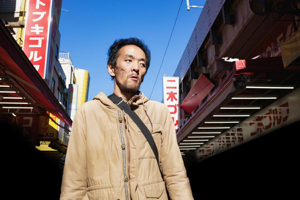 unhappy Tokyo shopper