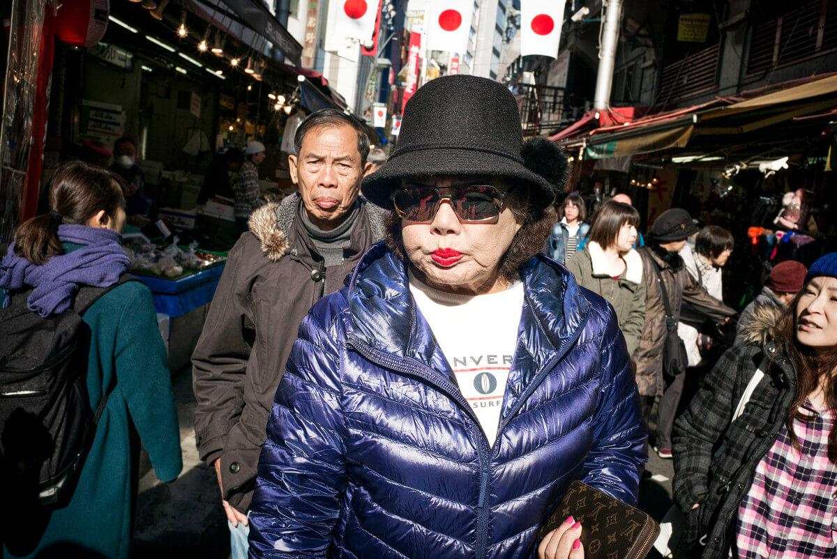 Tokyo shopper
