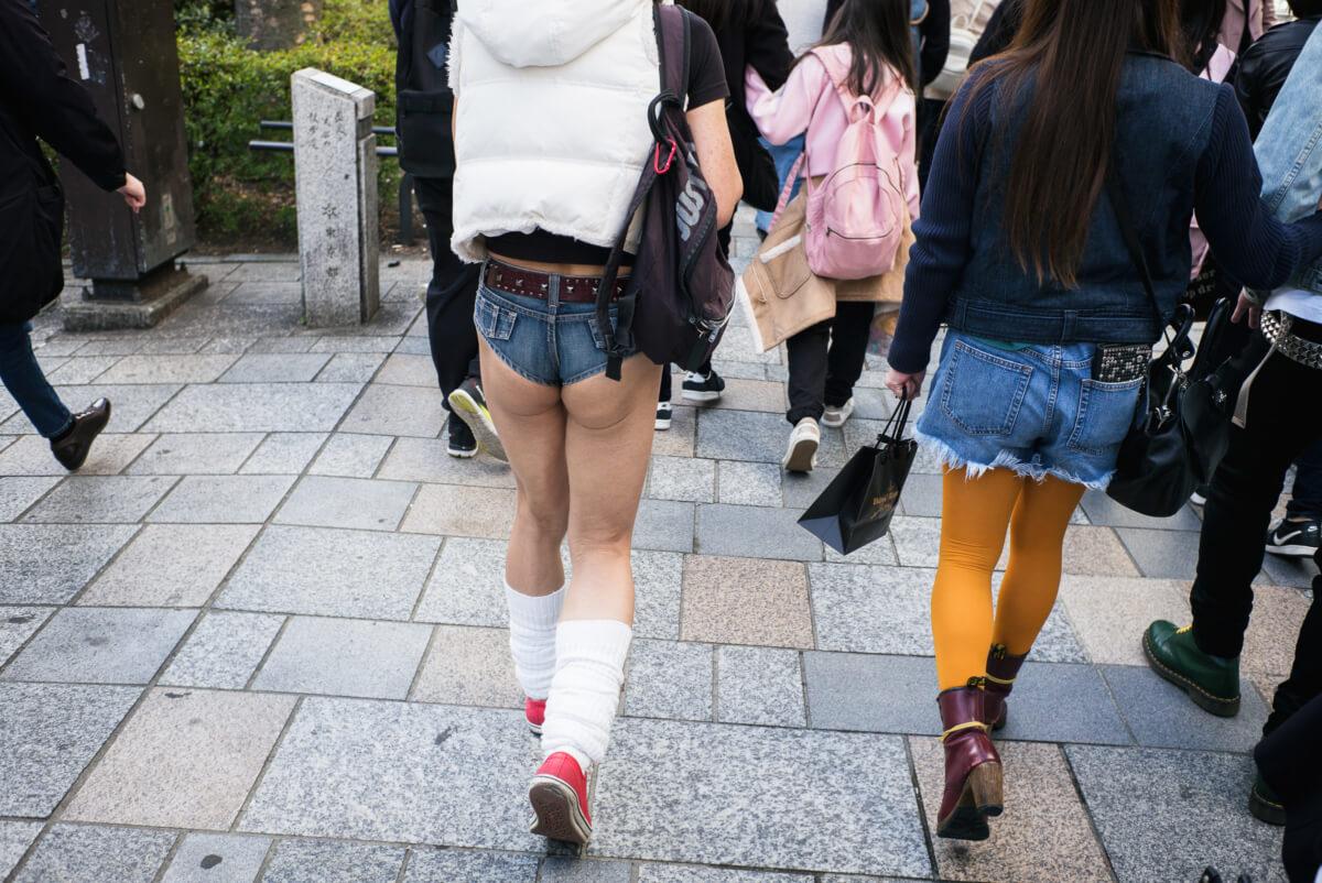 tokyo very short shorts