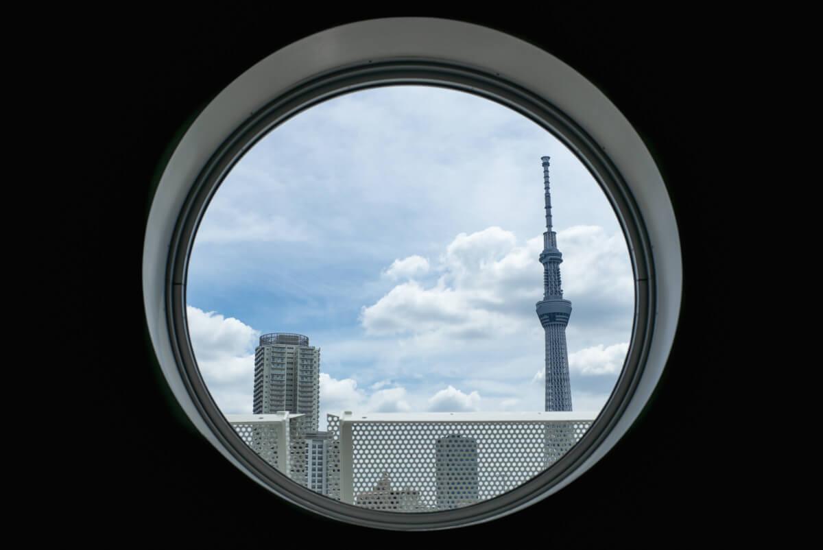unique tokyo skytree view