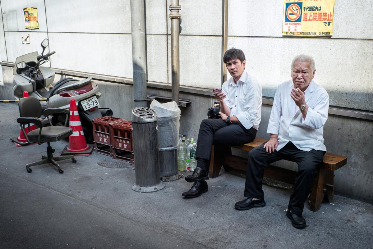 tokyo smoking in non smoking