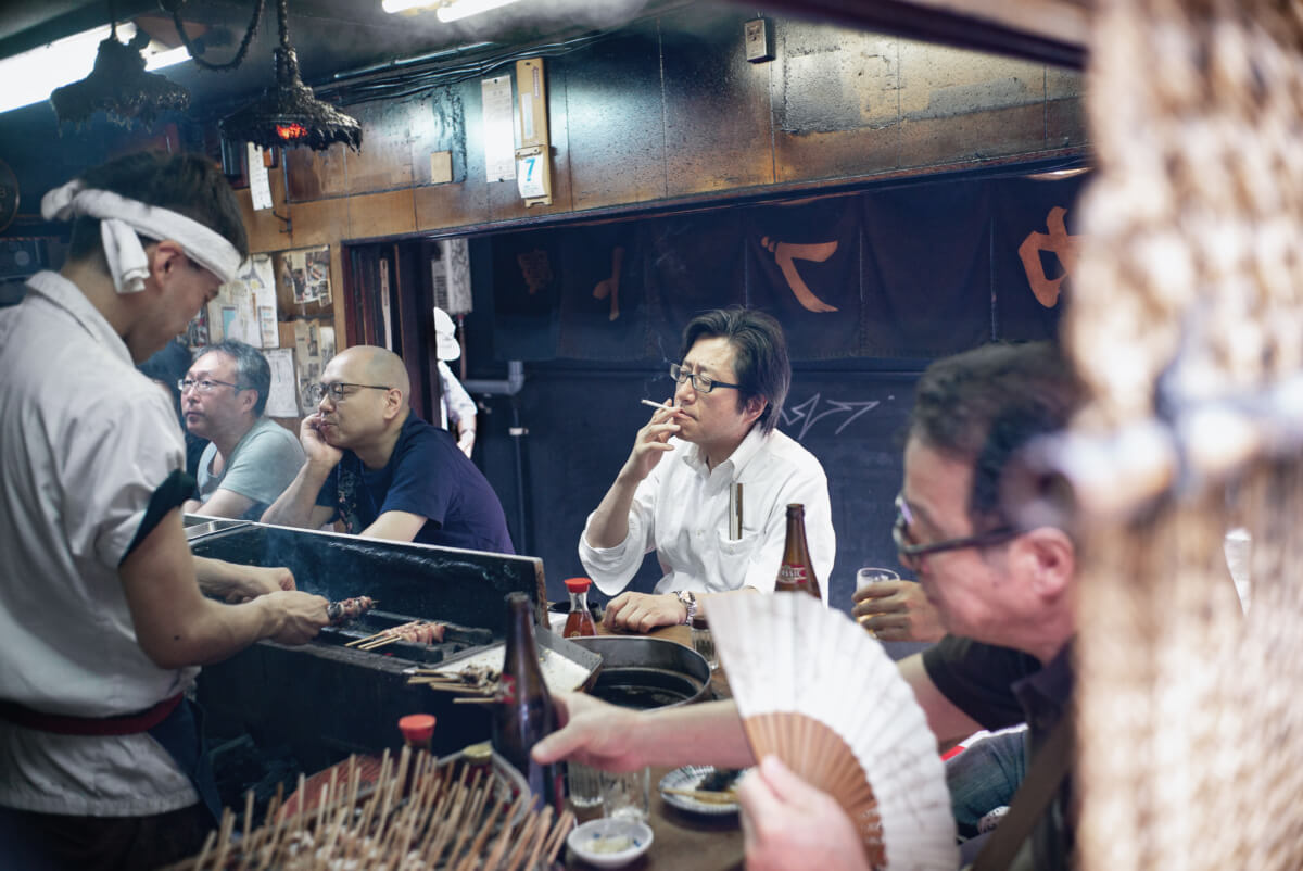 tokyo summer beers fans and cigarettes