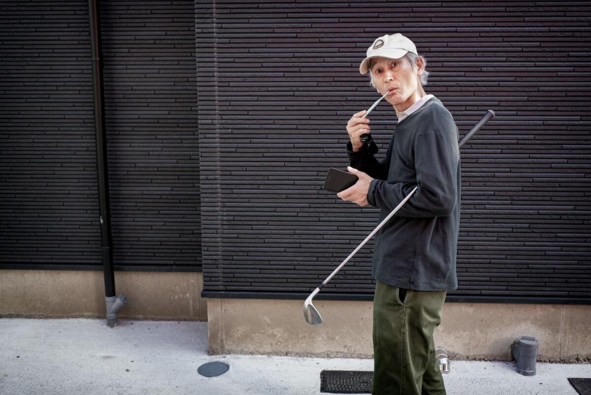 tokyo urban golfer