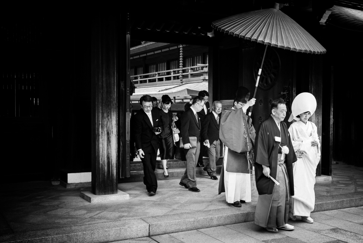 traditional japanese wedding in Tokyo